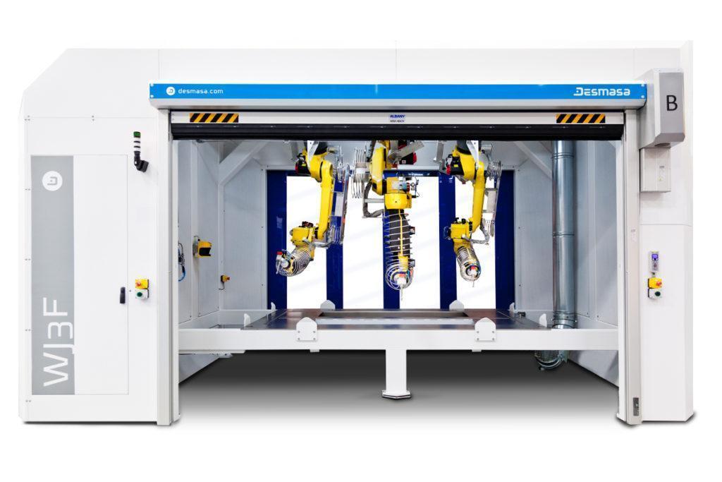 Water jet Fanuc Robots