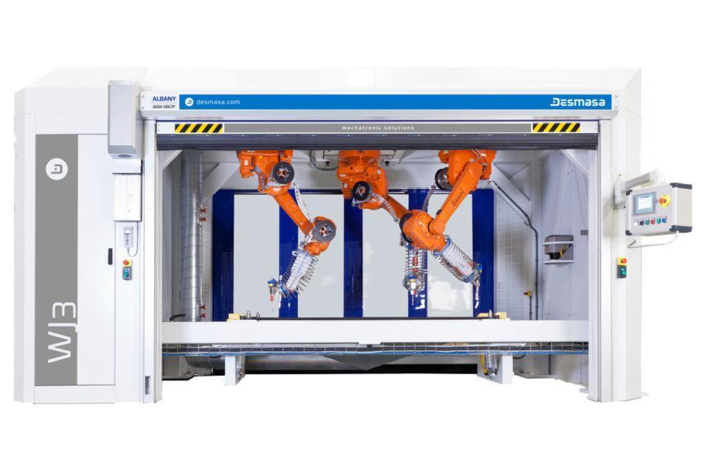 Water jet ABB Robots