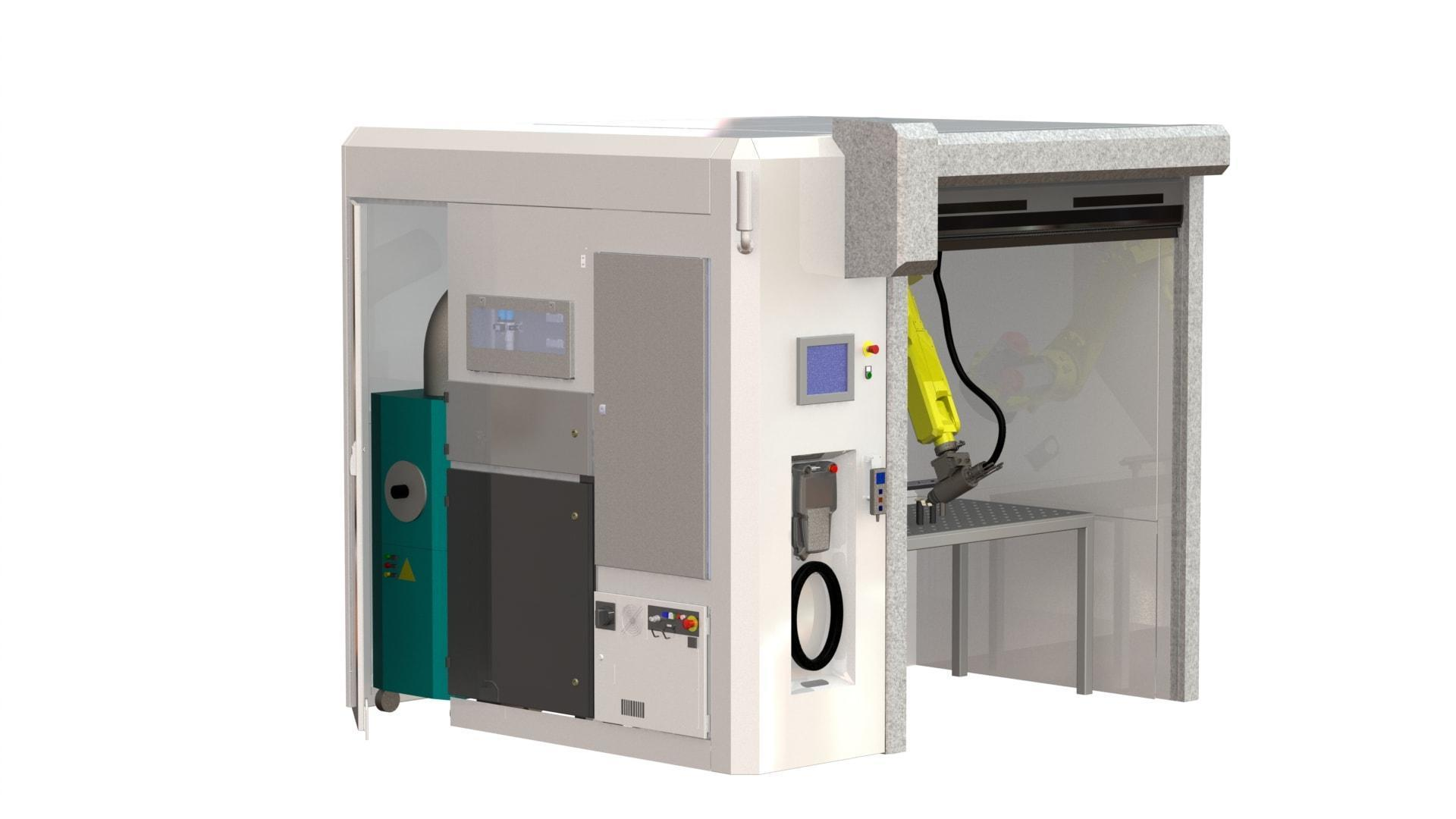 Tailor-made laser cutting cell