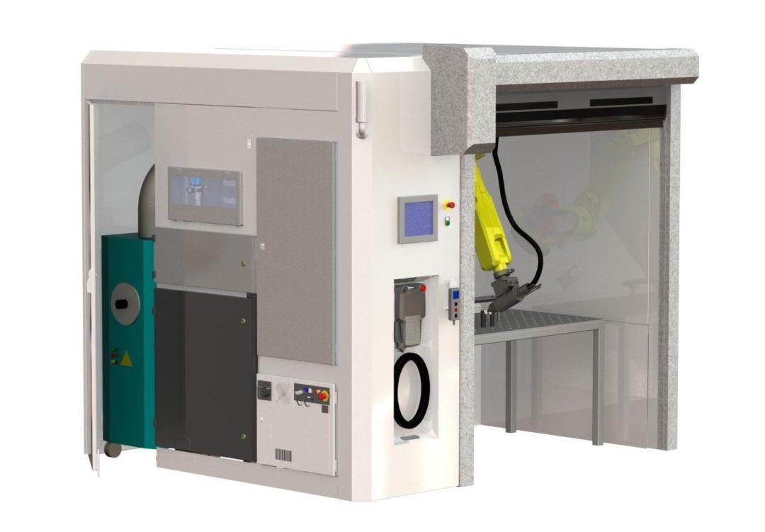 Cellule de découpe laser sur mesure