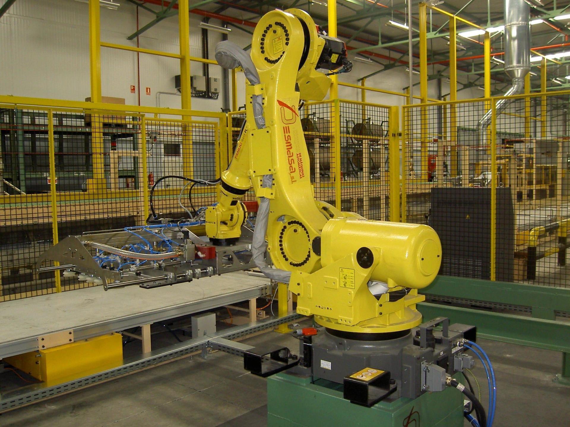 Manipulación robotizada de productos
