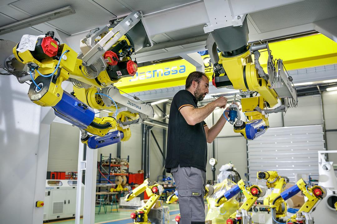 Robotización de procesos de corte