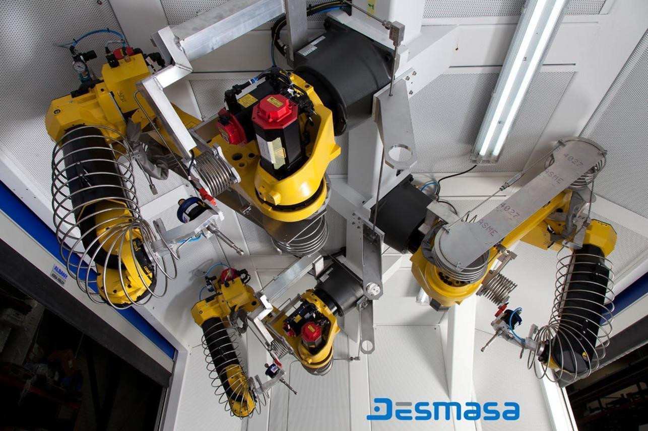 Cutting process robotization