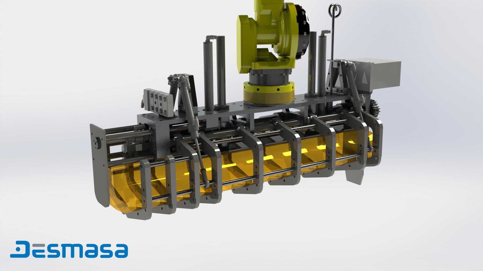 Robotización / Manipulación de producto fresco. Sector agroalimentario