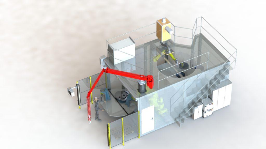 Robotización de corte por plasma