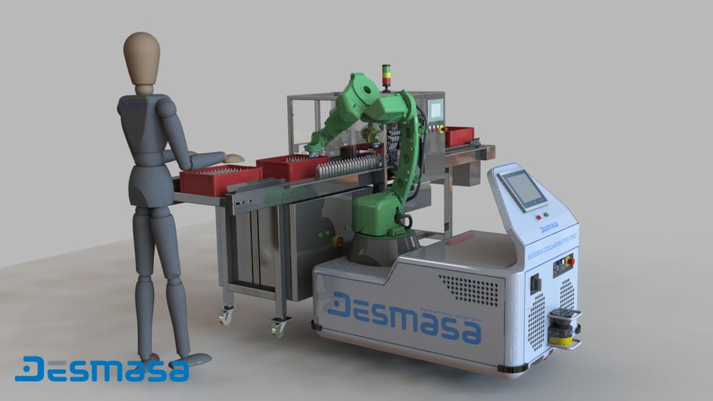 Manipulación de producto Robotización Industrial