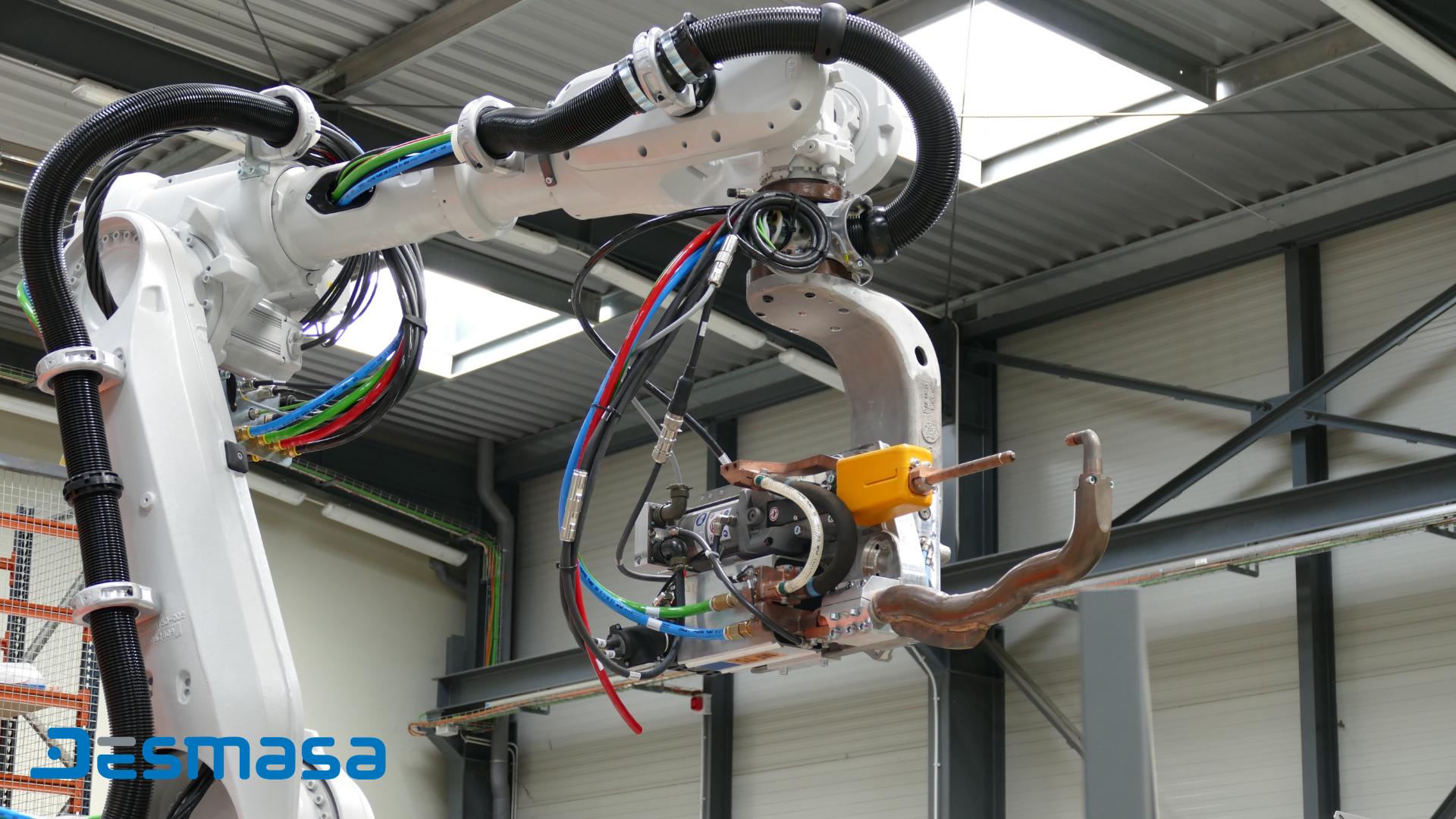 Célula de soldadura Robotización Industrial